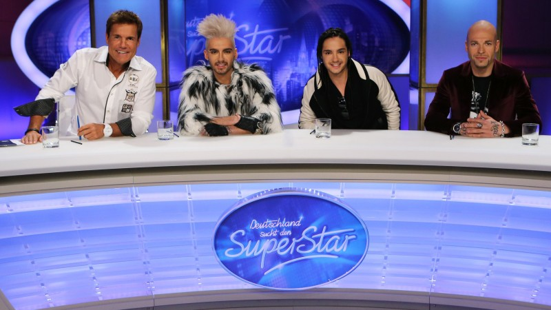 dsds 2013 tokio hotel zwillinge bill und tom sowie mateo neu in der jury. Black Bedroom Furniture Sets. Home Design Ideas
