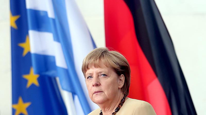Angela Merkel, Athen, Euro-Krise