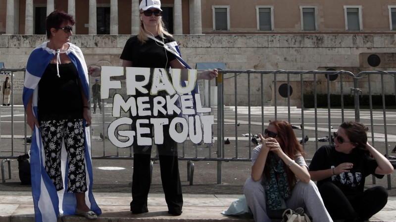 Merkel in Athen, Euro-Zone, Festnahmen