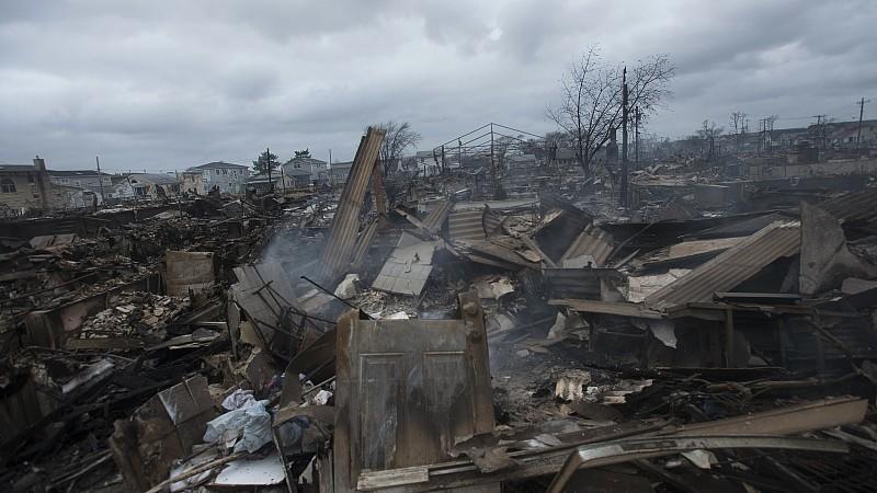 New York, Sandy, Queens, Zerstörung
