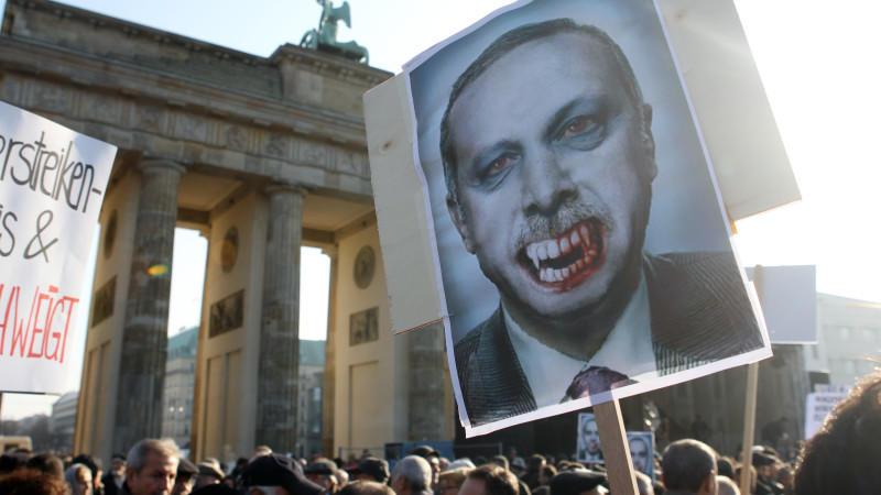 Erdogan Merkel Berlin Politik