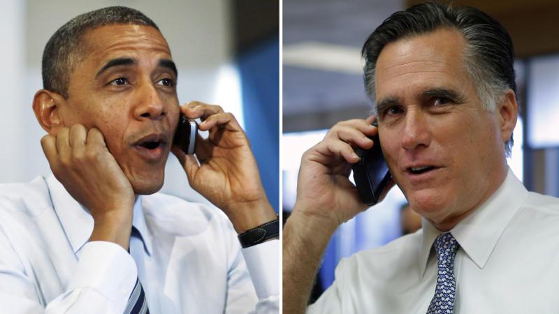 Obama hat sich im Gegensatz zu Romney die Stimmen der heiß umkämpften Swing States gesichert.