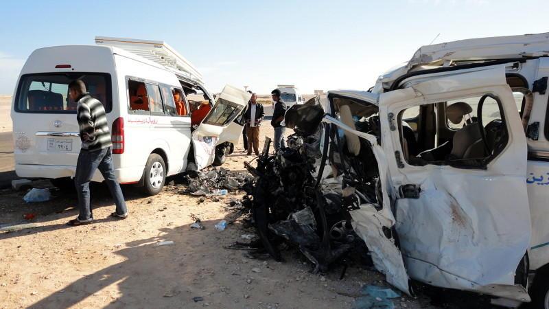 Ägypten, Busunglück, Deutsche getötet