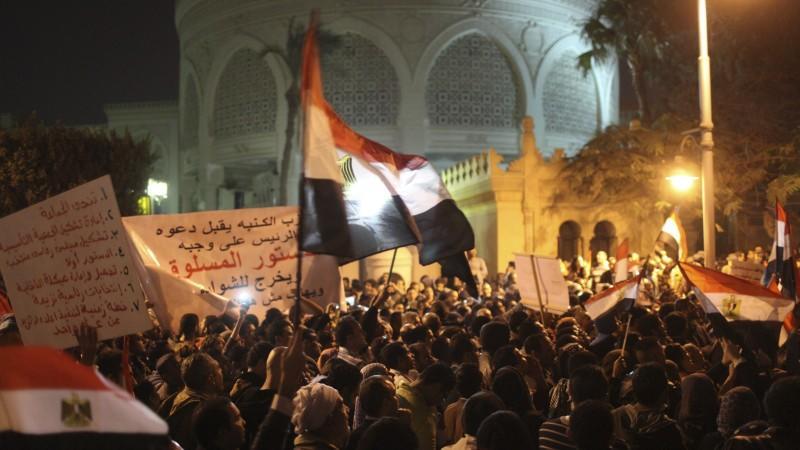 Kairo, Straßenschlacht, Mursi, Proteste