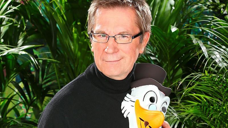 """Arno Funke alias """"Dagobert"""" zieht als Kandidat ins Dschungelcamp 2013 ein."""