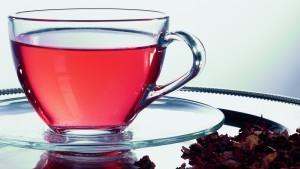 Aufgüsse von rotem Tee, um Gewicht zu verlieren