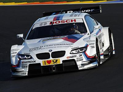 Timo Glock machte bei seiner ersten Testfahrt eine gute Figur.
