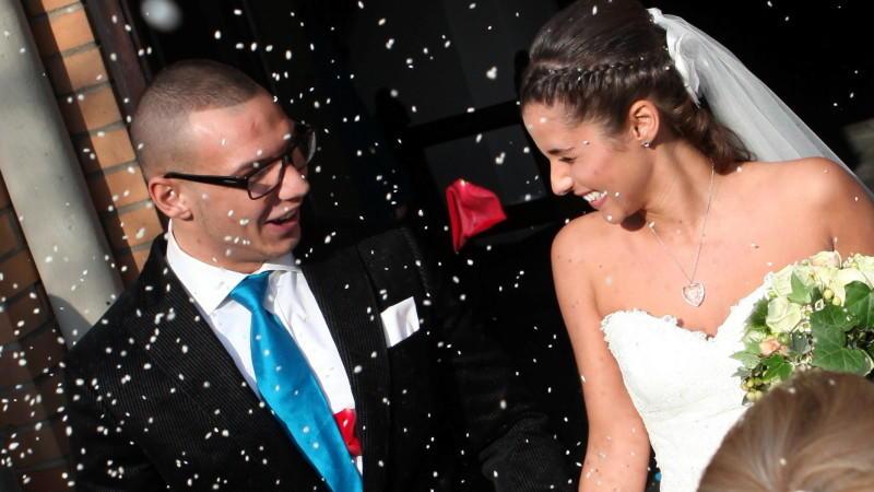 Superstar 2011 Pietro Lombardi und Sarah Engels haben geheiratet