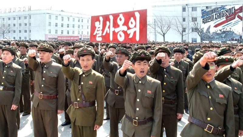Nordkorea, Südkorea, Korea-Konflikt, Atomangriff