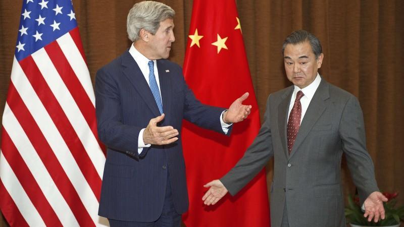 US-Außenminister Kerry und sein chinesischer Kollege Wang Yi: Was tun wegen Nordkorea?