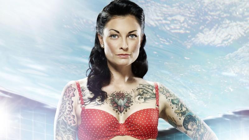 """Lina van de Mars ist in der RTL Show """"Pool Champions"""" mit von der Partie."""