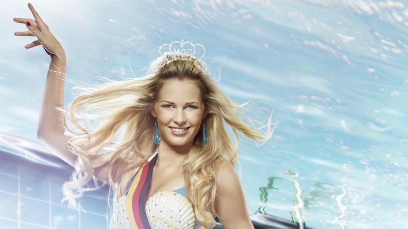 """Miss Germany"" Caroline Noeding tritt bei ""Pool Champions"" an."