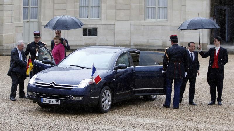 Merkel und Hollande in Paris
