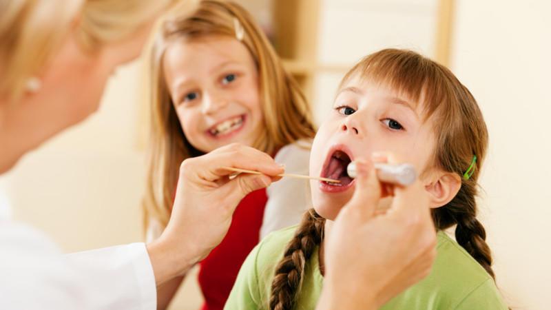 Mandeloperationen bei Kindern