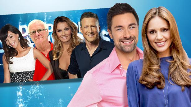 """Das sind die Juroren und die Moderatoren von """"Die Pool Champions 2013""""."""