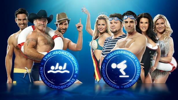 """Wer zeigt was in der zweiten Liveshow von """"Die Pool Champions - Promis unter Wasser""""?"""