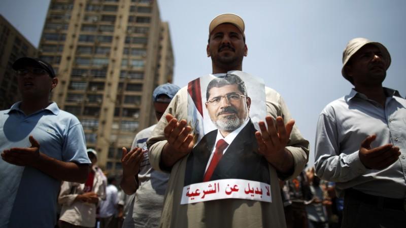 Die Anhänger von Mohammed Mursi wollen dessen Absetzung nicht akzeptieren.