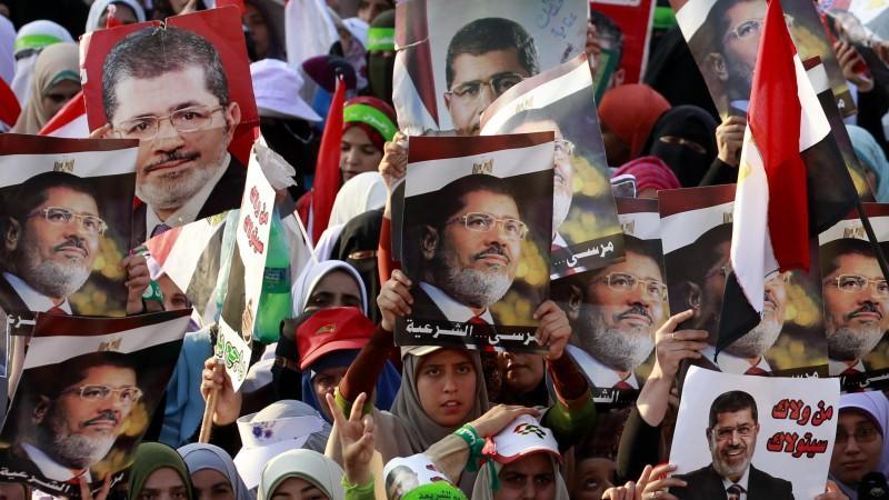 Gewalt gegen Muslimbrüder: Offenbar gab es bei einer Sitzblockade in Kairo 34 Tote.