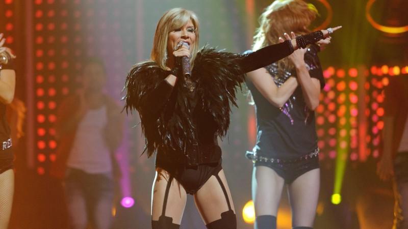 """Auf der """"Chart Show-Bühne"""" dabei: Sexbombe Samantha Fox (Foto: 2011)"""