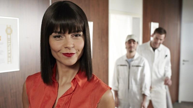 Susan Hoecke spielt die Rolle der Nicole Sane.