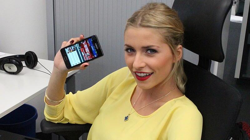 Supertalent-Jurorin Lena Gercke zu Gast bei RTL.de