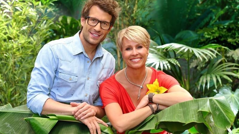 Die Dschungelcamp-Moderatoren Daniel Hartwich und Sonja Zietlow