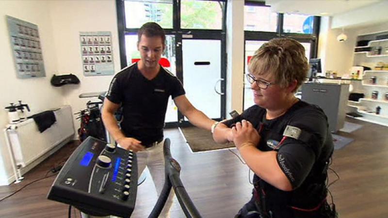 EMS Training: Schlank werden mit elektrischer Muskelstimulation