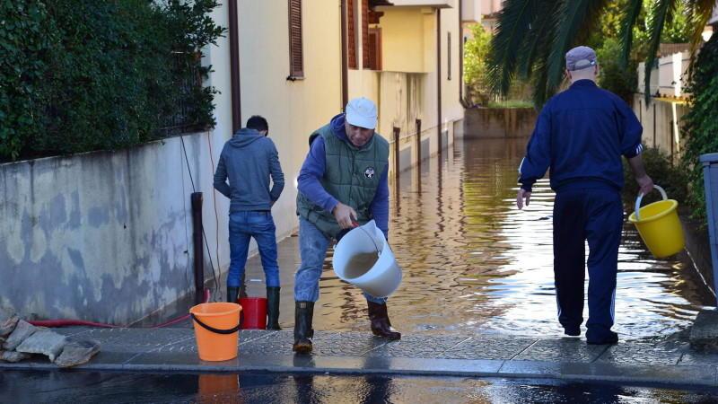 Sardinien Unwetter