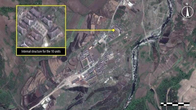 Die Satellitenaufnahme zeigt die Erweiterung der Halle 16. Foto: Amnesty International