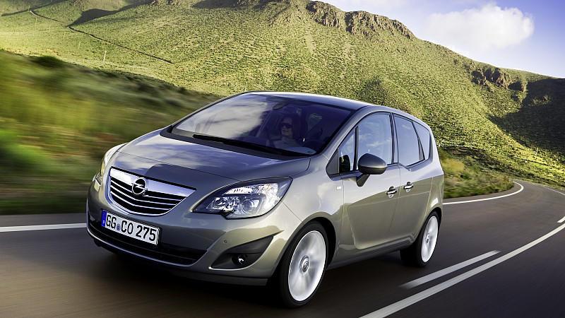 Opel Meriva Mängel