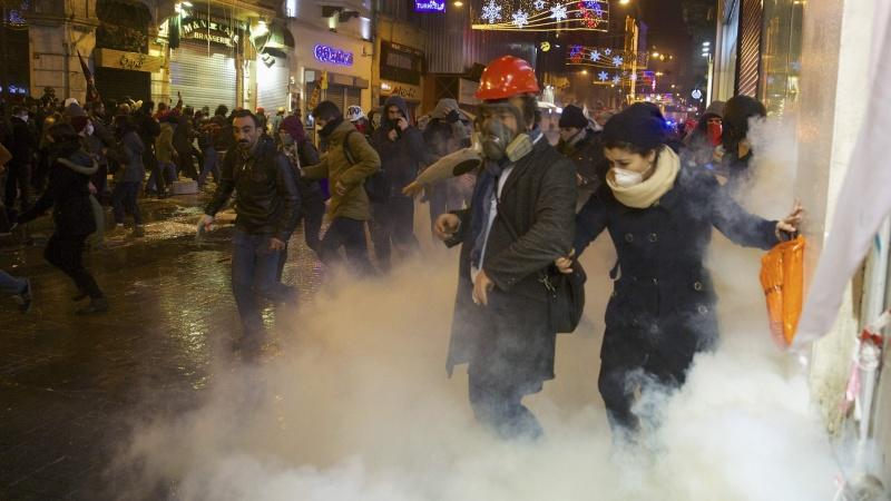 Türkei Proteste EU-Kritik Erdogan
