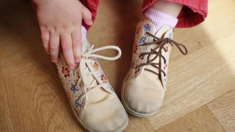 In diesem Fall hat es geklappt: Aber welcher Schuh gehört an welchen Fuß?