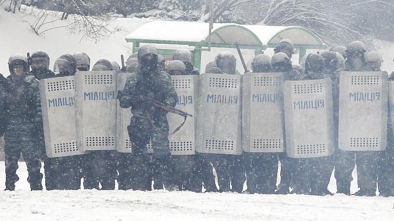 Kiew Polizei