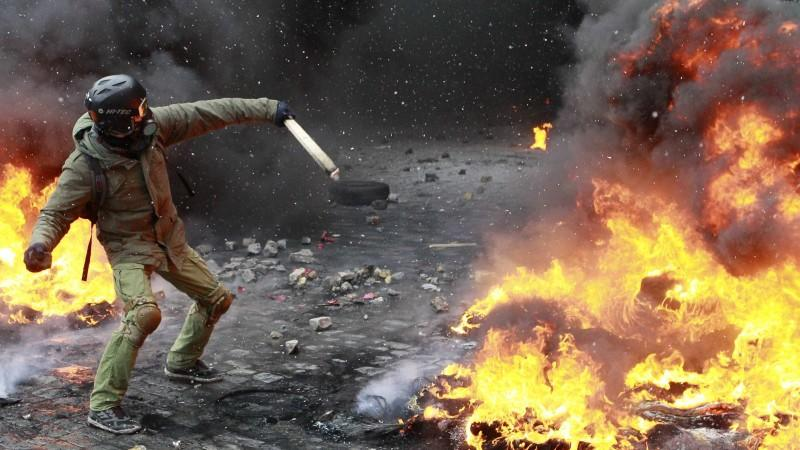 Erste Todesopfer in der Ukraine