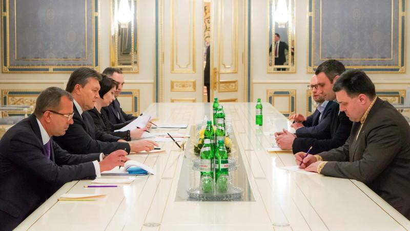 Janukowitsch, Ukraine, Klitschko