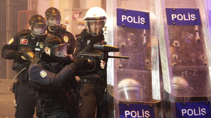 Polizei, Türkei