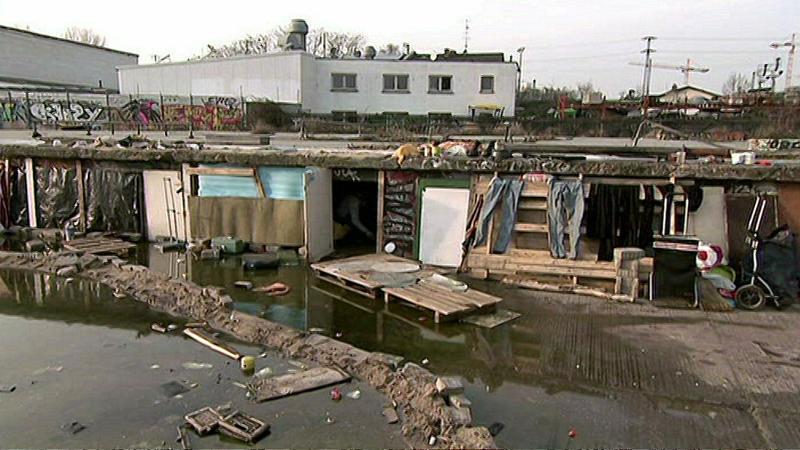 Slums mitten in deutschen Großstädten