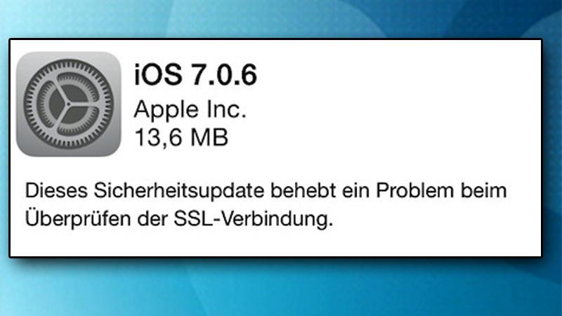 Am besten gleich das Update installieren