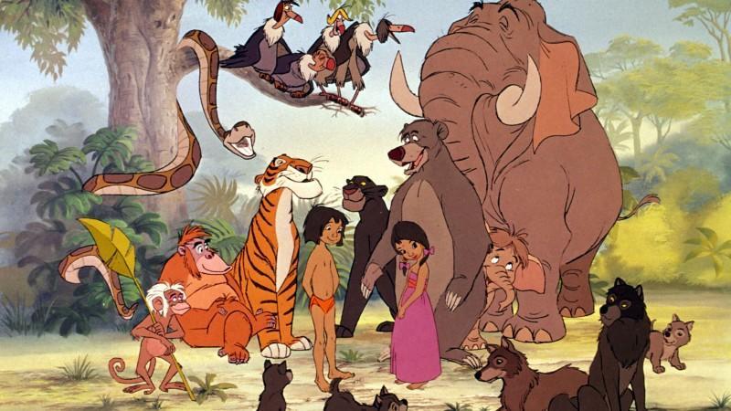 Die Tiere aus dem Dschungelbuch