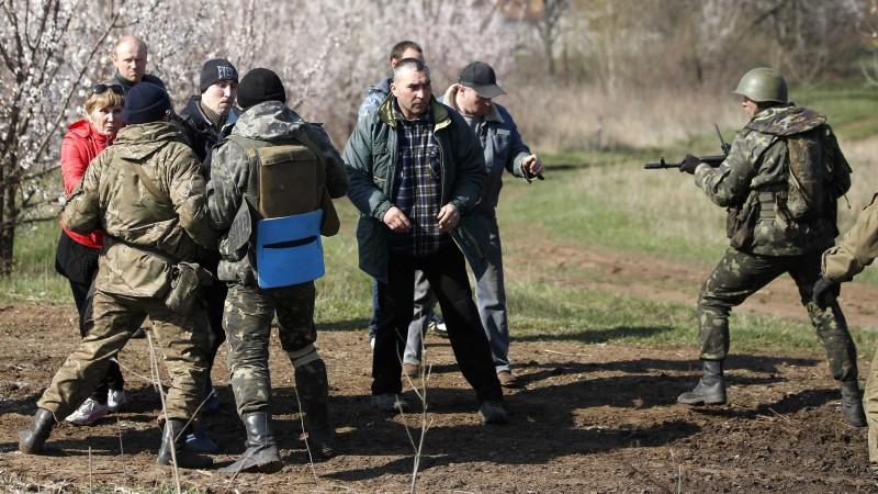 Ost-Ukraine Tote Angriff Soldaten Mariupol