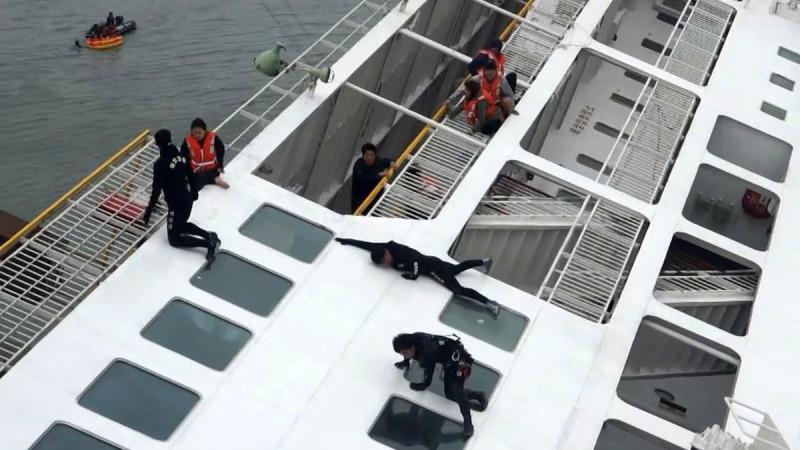 Untergang der Sewol: viel zu viel Fracht an Bord