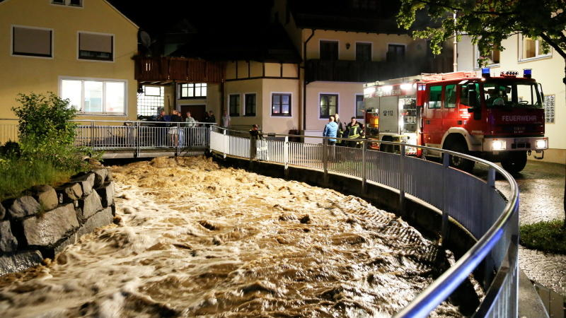 Dauerregen: Deutschland säuft ab