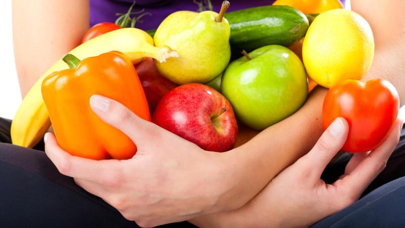Wer sich stets nach Farben ernährt, kann sicher sein, sich gesund zu ernähren.