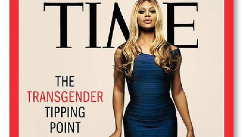 Laverne Cox ist das erste Transgender-Model auf dem Titel des US-Magazins 'Time'. (Quelle: Time Magazine)