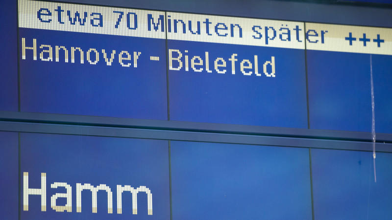 Unwetter, Bahn