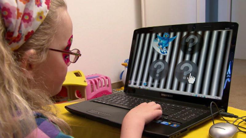 Computerspiele gegen Sehschwäche bei Kindern