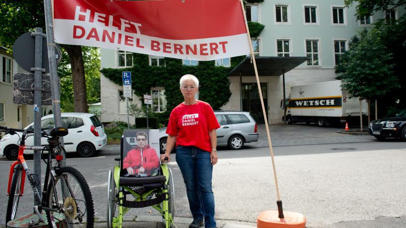 Claudia Bernert tritt in Hungerstreik
