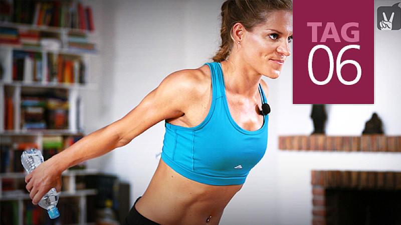 Übungen zum Abnehmen von Armen und Brust