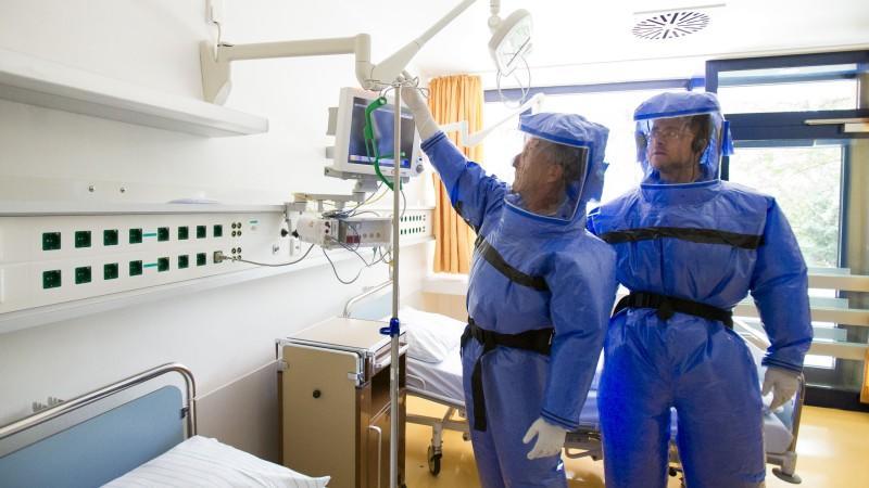 Ebola-Verdachtsfall in Berlin bestätigt sich nicht.