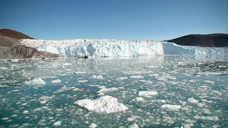 Gletscher in Grönland.